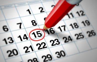 Calendarios laborales 2019